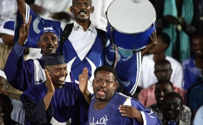 مشجعي فريق الهلال السوداني
