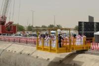 فيصل بن بندر يطلق عمل آلة (ظفرة) العملاقة ويؤكد : لامعوقات في مترو الرياض