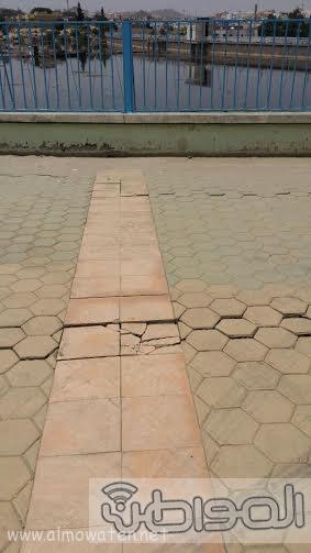 مشروع الممشي المحاذي لسد وادي ابها 1