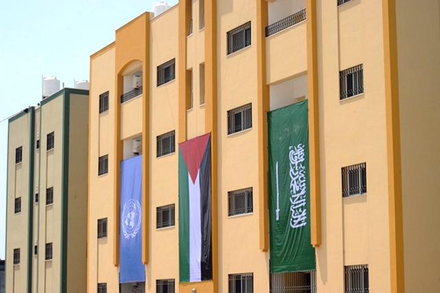 مشروع انشاء 104 وحدة سكنية بقطاع غزة