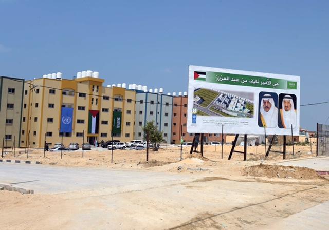 مشروع انشاء 104 وحدة سكنية بقطاع غزة1