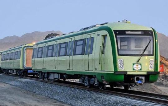 مشروع قطار الحرمين السريع