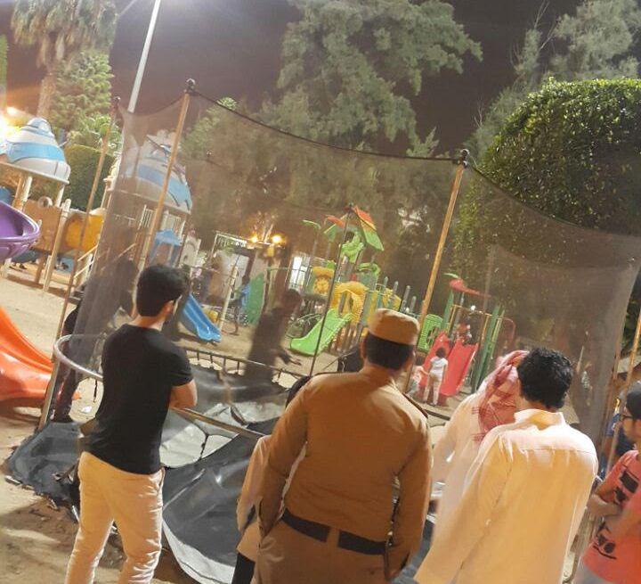 مصادرة بسطات وألعاب أطفال مخالفة بحدائق ومتنزهات بأبها (3)