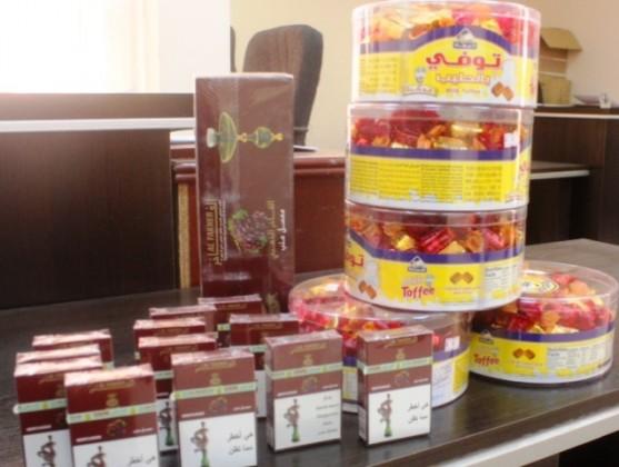 مصادرة-علب-حلويات