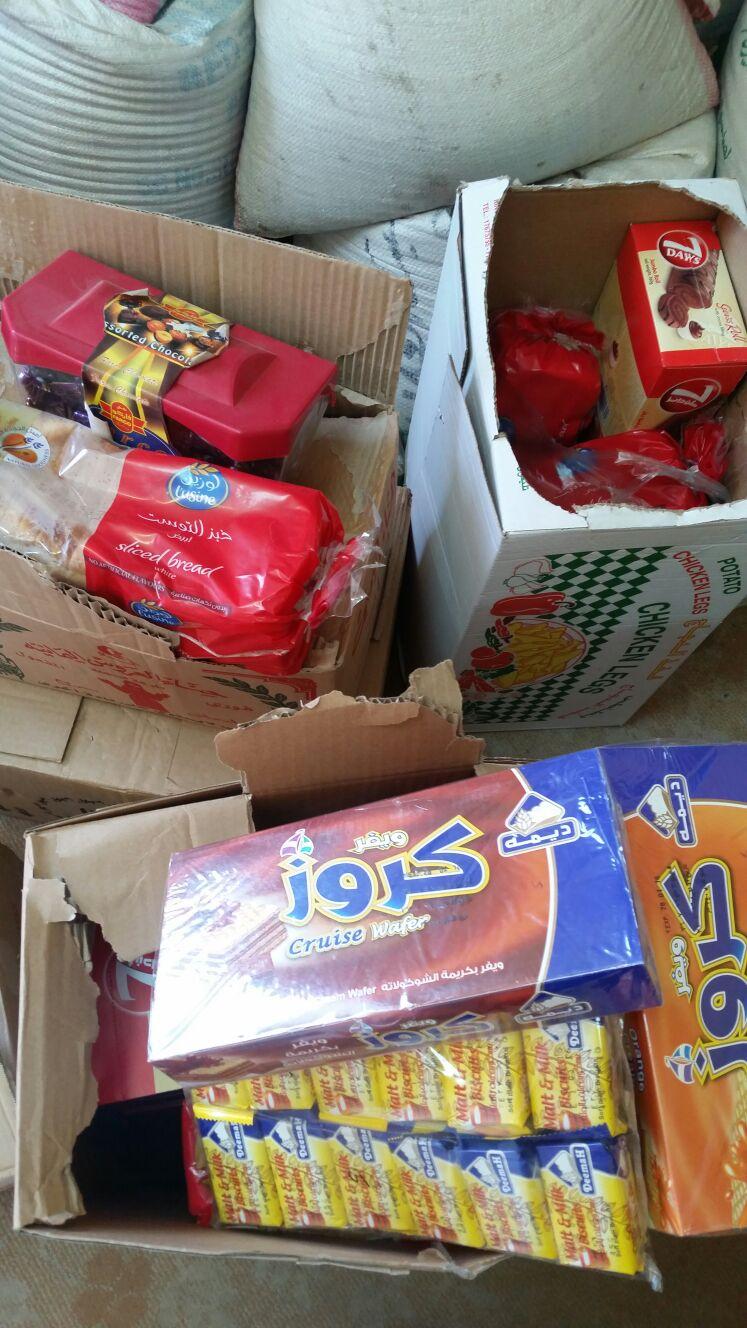 مصادرة مواد غذائية منتهية الصلاحية في #بلقرن (4)