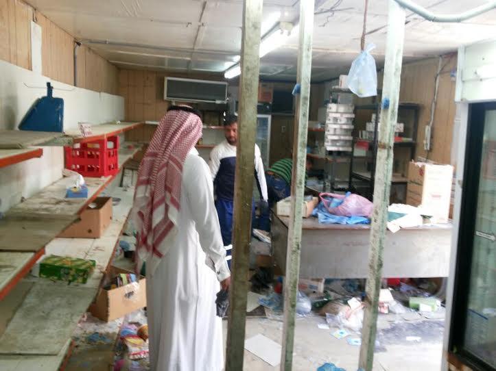 مصادرة ١٤٩٠ كجم من المواد الغذائية الفاسدة ببلدية الظهران