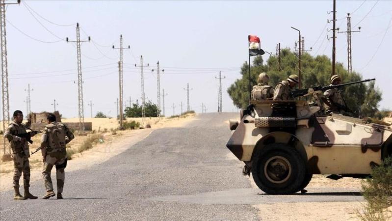 مصرع وإصابة 5 شرطيين مصريين في سيناء