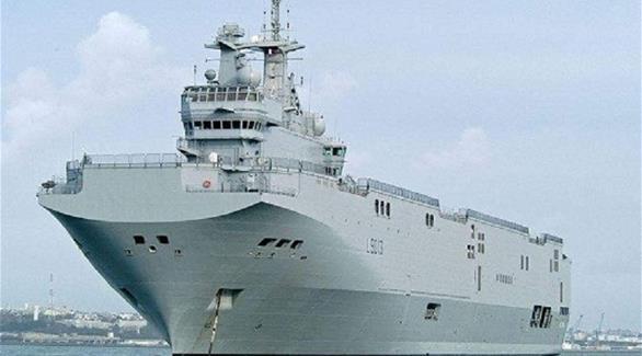 مصر تتسلم سفينة  ميسترال الحربية  من فرنسا
