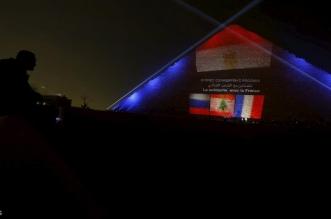 مصر تضيء الهرم بأعلام لبنان وفرنسا وروسيا - المواطن