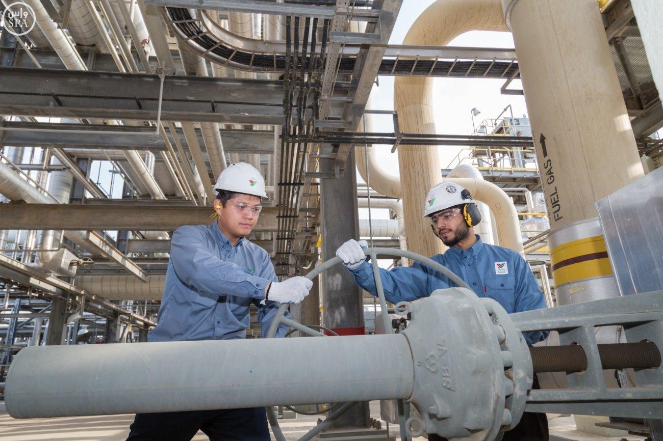 مصفاة ياسرف تنتج 400 ألف برميل يومياً من الوقود النظيف1