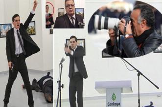 بالصور.. مصوّر اغتيال السفير الروسي بتركيا يكشف أسرار الحادث - المواطن