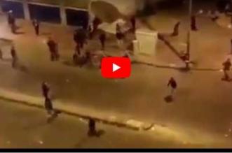 شاهد.. مضاربة عنيفة بين مغاربة وأفارقة تحرشوا بفتاة - المواطن