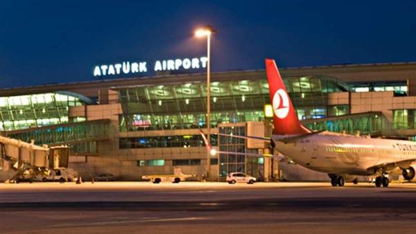 مطار أتاتورك بإسطنبول