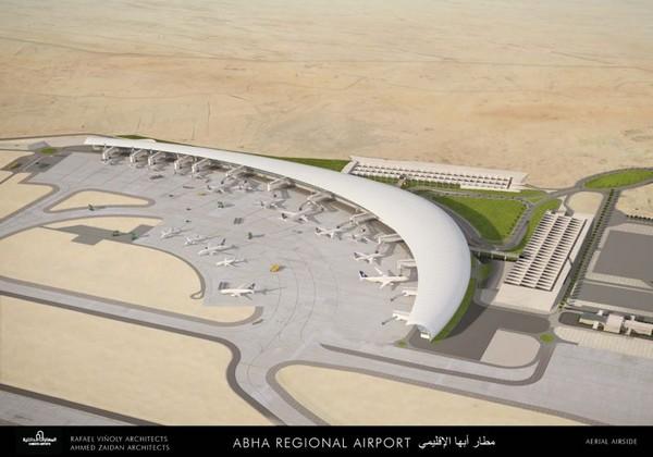 مطار ابها الجديد