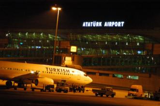 الشرطة التركية تطلق النار على مشتبه بهم قرب مطار أتاتورك - المواطن