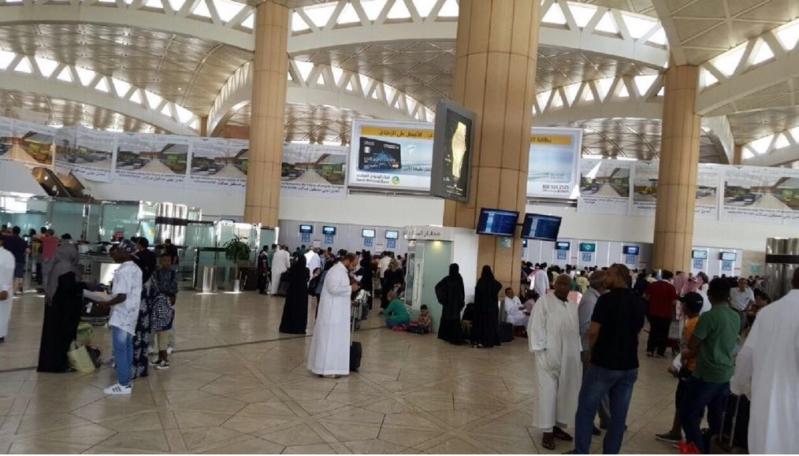 مطار الملك خالد صالة 2-1