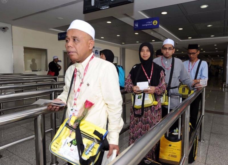 مطار-جدة-يستقبل-الحجاج