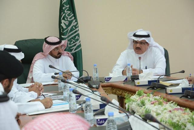 مطالبات كبيرة في لقاء الشمري بوكيل وزارة النقل حول طرق وعقاب الباحة 2