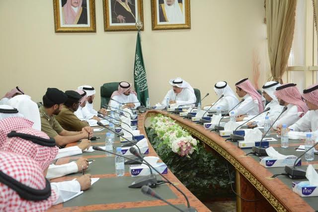 مطالبات كبيرة في لقاء الشمري بوكيل وزارة النقل حول طرق وعقاب الباحة 5