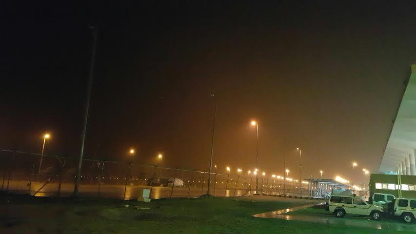 بالصور.. #أمطار غزيرة ورياح شديدة على #الخفجي - المواطن