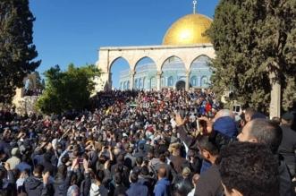 بالفيديو والصور.. انطلاق تظاهرة غاضبة من المسجد الأقصى احتجاجًا على قرار ترامب - المواطن