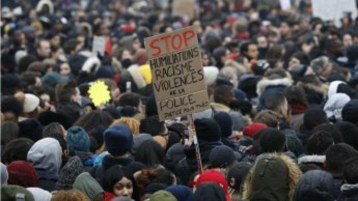 تظاهر الآلاف في فرنسا ضد عنف الشرطة