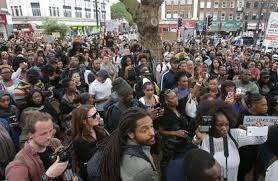 مظاهرات في لندن احتجاجاً على العنصرية في أمريكا
