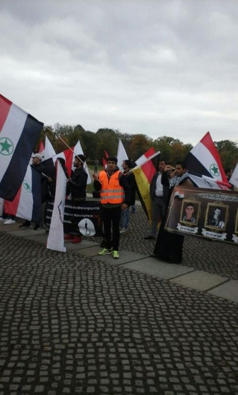 مظاهرة الاحواز امام البرلمان الالماني (10)