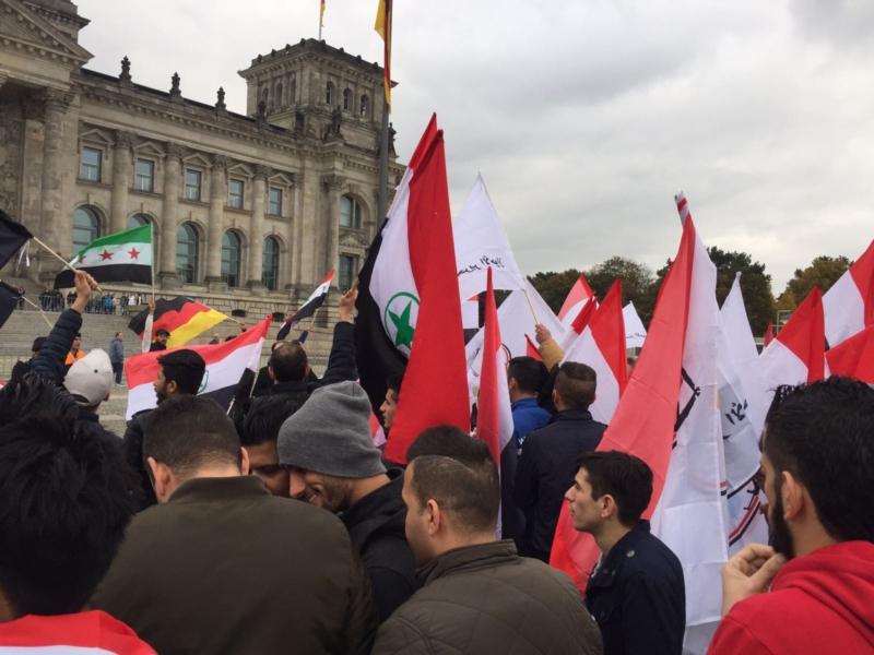 مظاهرة الاحواز امام البرلمان الالماني (12)