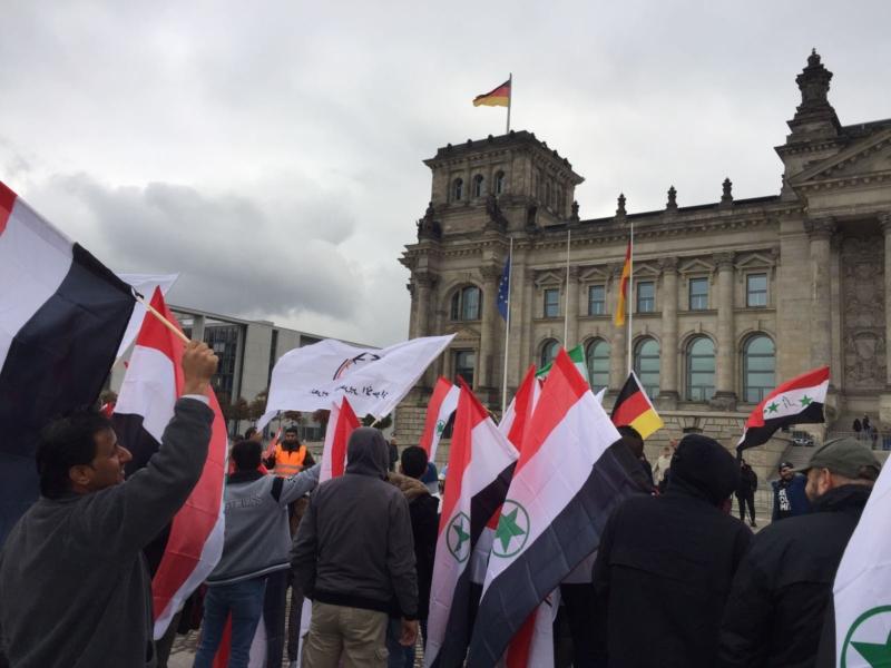 مظاهرة الاحواز امام البرلمان الالماني (14)