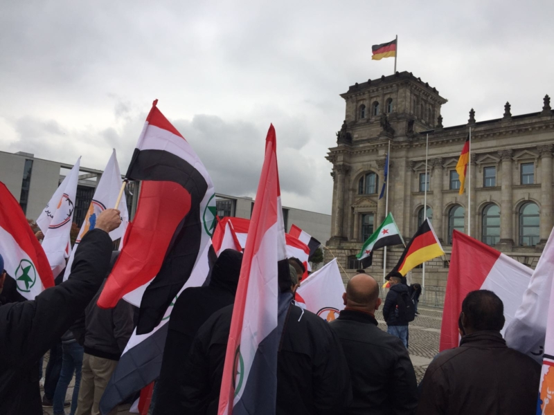 مظاهرة الاحواز امام البرلمان الالماني (15)