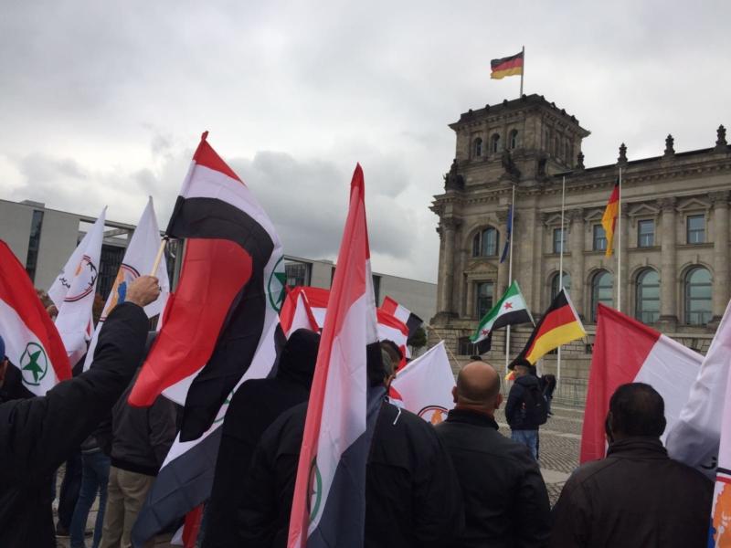 مظاهرة الاحواز امام البرلمان الالماني (16)
