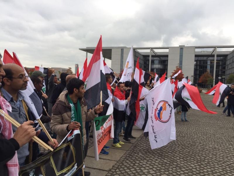 مظاهرة الاحواز امام البرلمان الالماني (17)