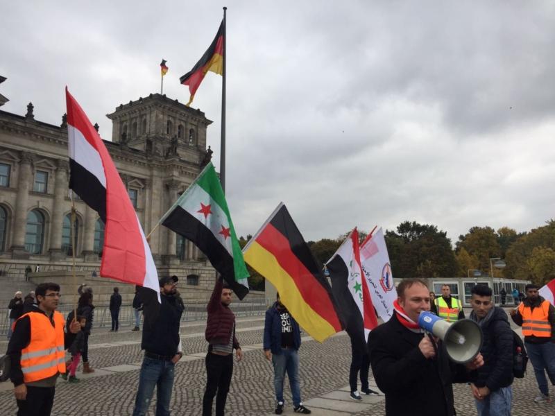 مظاهرة الاحواز امام البرلمان الالماني (18)