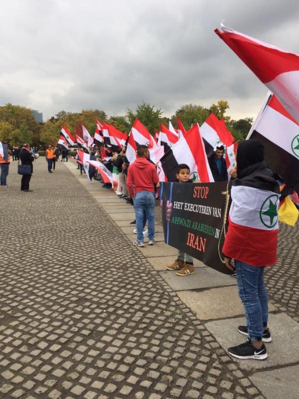 مظاهرة الاحواز امام البرلمان الالماني (4)