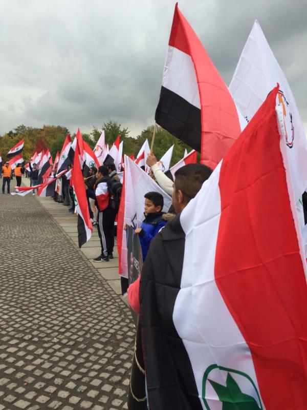 مظاهرة الاحواز امام البرلمان الالماني (5)