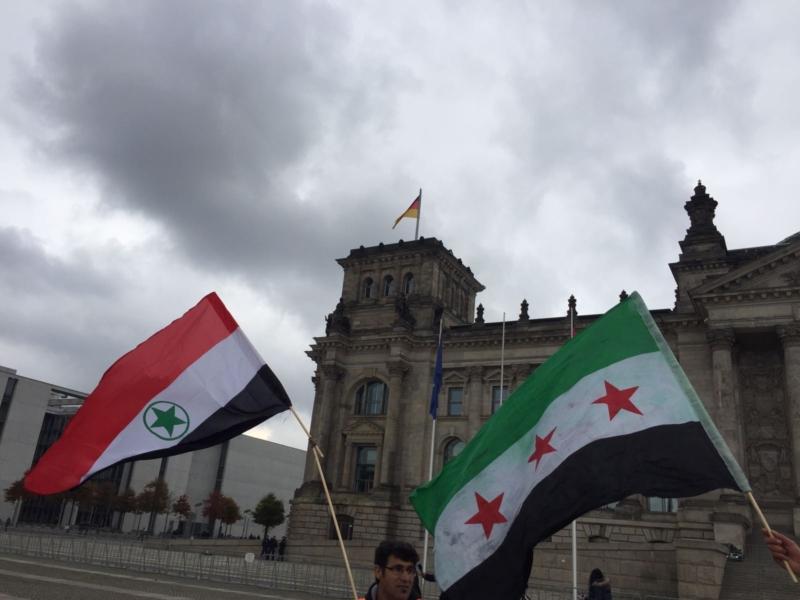 مظاهرة الاحواز امام البرلمان الالماني (7)