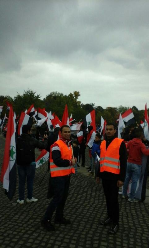 مظاهرة الاحواز امام البرلمان الالماني (9)