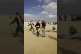 بالفيديو.. لحظة سقوط طالبتين من مظلة هوائية بمصر - المواطن