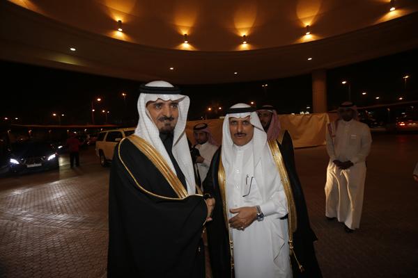 معالي اول سعيد القحطاني ومعالي الفريق عثمان المحرج