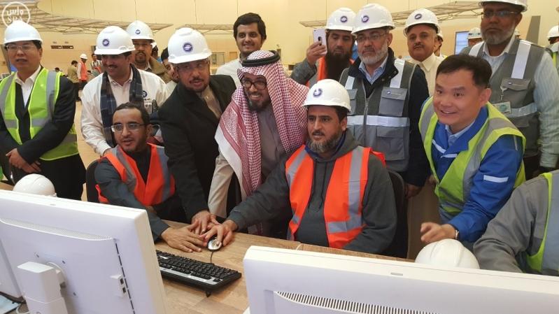 معالي محافظ المؤسسة العامة لتحلية المياه المالحة الدكتور عبدالرحمن بن محمد آل إبراهيم 1
