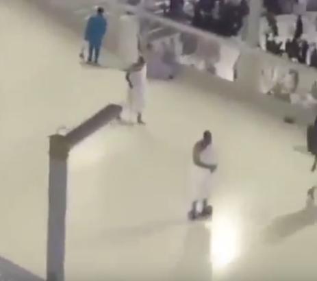 """أمن المسجد الحرام: تصرف معتمر الاسكوتر """"فردي"""" ونمنع تلك العجلات - المواطن"""