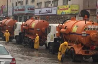 أمانة الشرقية : أكثر من 1000 معدة وعامل و٥٤٠ بلاغا خلال موجة الأمطار - المواطن