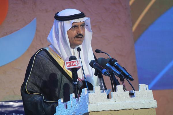 معرض السياحة والسفر - الأمير خالد بن بندر أمير منطقة الرياض