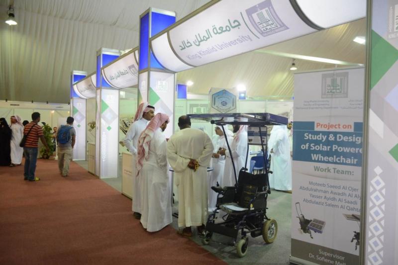 معرض جامعة الملك خالد سوق عكاظ (4)