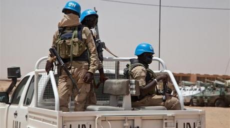معسكر الأمم المتحدة في شمال مالي