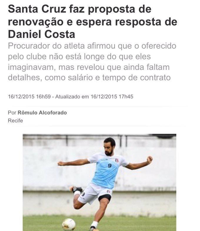مفاوضات مع اللاعب البرازيلي دانييل كوستا