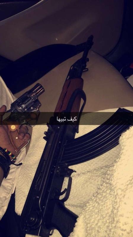 مفحط شهير الرياض1
