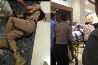 شاهد.. مقتل شرطي طعنًا في سيتي سنتر مسقط - المواطن