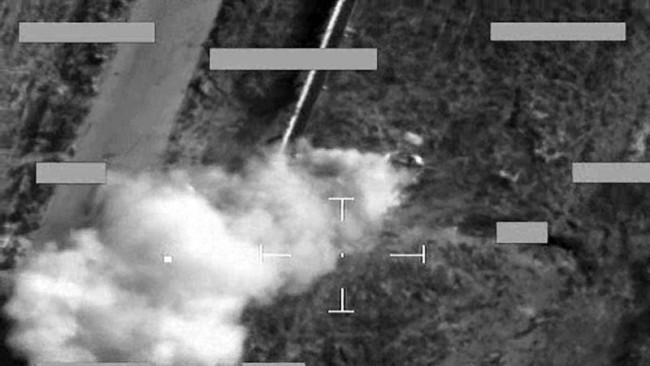 مقتل مسؤول الدفاعات الجوية بـ #داعش بقصف جوي